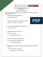 Practical Model Question Paper