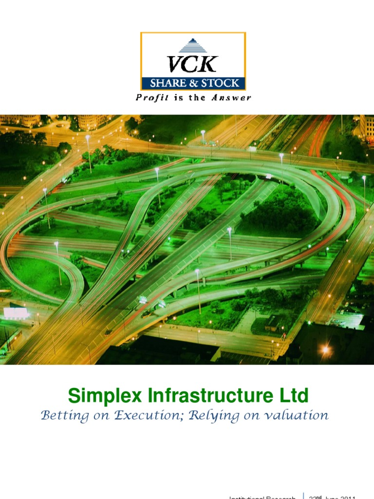Simplex Infra IC | Stocks | Book Value