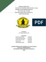 Proposal Penelitian Dbd