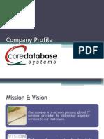 Company Profile CDS Services