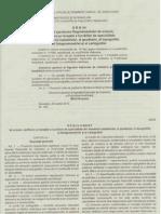 Ordin Al Directorului General Al ANCPI Privind Aprobarea Regulamentului de Avizare Verificare Si Receptie a Lucrarilor de Special It Ate