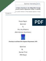 Internship Report Finance