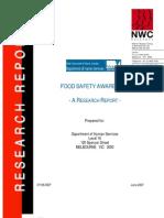 07food Safety Awareness Report