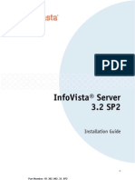 InfoVista Server 3.2 SP2 Installation Guide