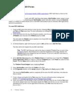 Creating MDI Child Forms - 1