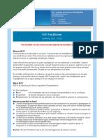 NLP Practitioner 2011 - 2012 | GO Amersfoort