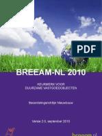 20100929_BRL_2010-v2.0_BREEAM-NL-NL
