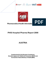 PHIS Hospital Pharma at Report Final Version 090630