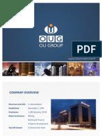 OUG Corporate Presentation
