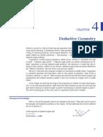 MM Deductive Geometry