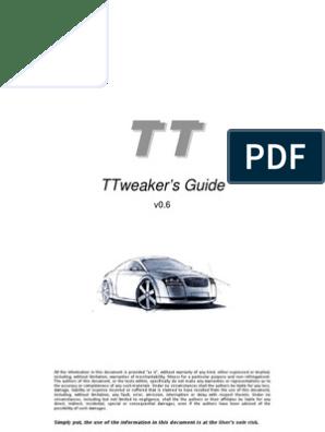 Audi TT Tweaks | Turbocharger | Throttle