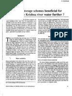 Krishna River Water Harnessing