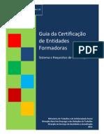 Guia Sistema de Certificação