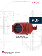 PIPING - VALVES - American Flow Control ( Gate Valves ) ( 8 PAGES )