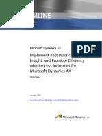 Dynamics Ax Best Practices