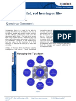 ERP for IT – fad, red herring or life-saver?