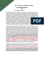 Aldanondo Martinez -El Papel Del Tutor en El Aprendizaje Virtual