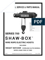 700 Series ShawBox