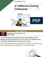 San Jose California Zoning Ordinance