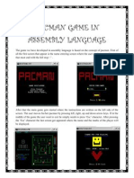 Pacman Game in Assembly Language