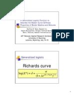 Master Curve Stiffness Properties