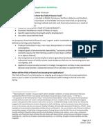 FOG - Grant Guidelines 2011