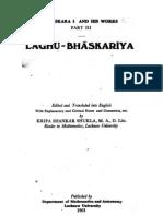 Laghu-Bhaskariya