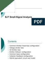 BJT Small Signal