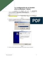 Instalación y Configuración de un Servidor Apache en Windows 7 Starter