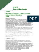 Manifesto Ifla Unesco
