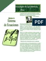 Sistema de Ecuaciones - Wilton Oltmanns