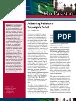 Addressing Pakistan's Sovereignty Deficit