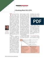 CFO role