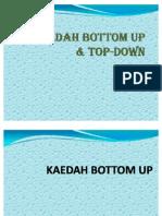 Kaedah Bottom Up