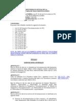 Chile Ley General de Telecomunicaciones