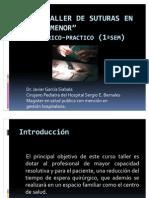 Curso Taller de Suturas en Cirugia Menor 1