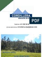 Presentación Cordillera