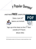 Another Free Computer Session