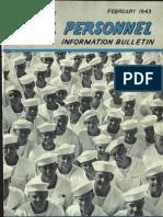 All Hands Naval Bulletin - Feb 1943