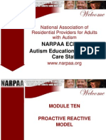 NARPAA E-Class Module 10 - Proactive Reactive Model