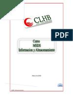 MSDS Almacenamiento General Para Curso