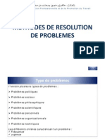 Resolution de Problemes