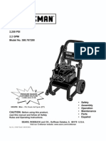Craftsman Pressure Washer 580.767200