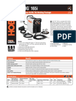 Spec Sheet - EZ TIG 165i