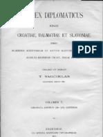 Codex Diplomaticus V