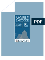 ScanLife - Mobile Barcode Trend Report 2011 Q1