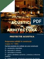 Protectie acustica