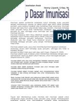 Konsep Imunisasi