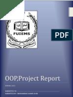 Project Report OOP