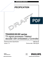 TDA93 - 5X - 6X - 8X Series